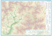 9781771290104	Andorra & Pyrenees Travel Reference Map	1:450,000/1:40,000