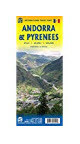 Andorra & Pyrenees Travel Reference Map1:450,000/1:40,000