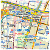 9781553417224	Taiwan & Taipei Travel Reference Map	1:386,000