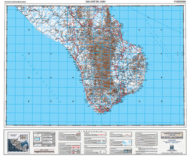 Baja topo Maps