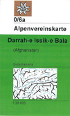 Darrah e Issik e Bala in Afghanistan map