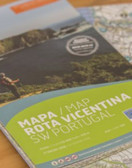 Rota Vicentina Portugal Trekking Map  Description If you are coming to hike in the Rota Vicentina or visit Sw Portugal, a good map is all that you need to be always a step ahead. Bring all important information with you.  DUST AND WATER RESISTANT SCALED 1:55 000 + GRID COMPLETE ROTA VICENTINA TRACKS TOURISTIC SERVICES CARTOGRAPHY FROM THE GEOSPATIAL INFORMATION CENTRE OF THE ARMY