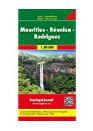 Mauritius Reunion Rodrigues Travel Map