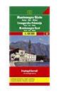 Montenegro Coast Travel Map