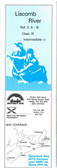 Liscomb Nova Scotia Canoe  Map