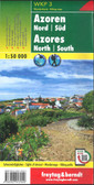 Azores Travel Maps North and South