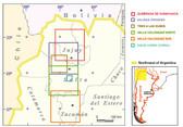 Salina Grandes Map
