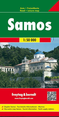 Samos Travel Map