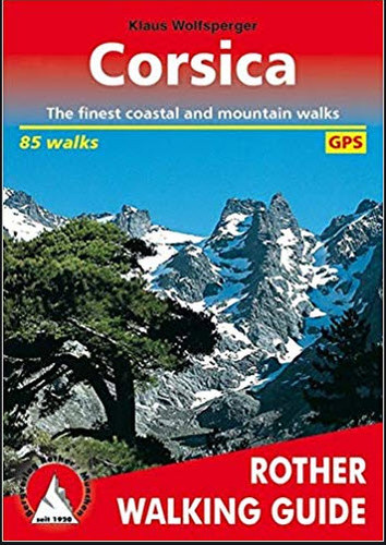 Corsica Hiking book