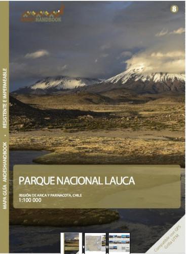 Lauca National Park Chile Trekking Map