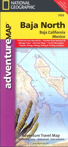 Baja North Travel Map