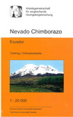 Nevado Chimborazo Trekking Map equador