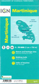 Martinique Travel Map