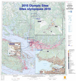 Olympic Sites map 2010