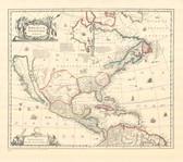 America Map 1639