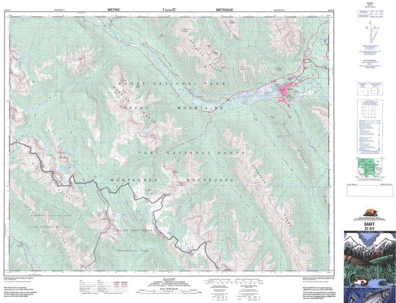 Ontario Topographic Map.Topographic Maps Alberta Ab Topo Maps Gotrekkers Com