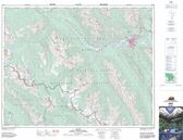 Alberta Topographic Map