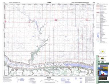 Saskatchewan Topographic Map