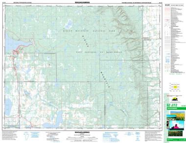 Manitoba Topographic Map