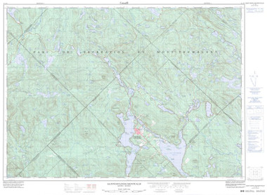 Quebec Topographic Map