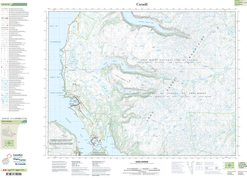 Topographic Maps Newfoundland and Lador | NL, NF Topo Maps ... on