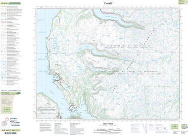 Newfoundland and Labrador Topographic Map