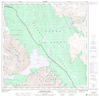 Yukon Topographic Map
