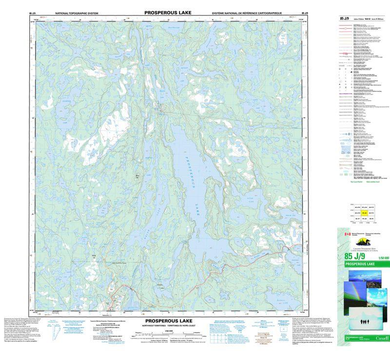 Topographic Maps Northwest Territories | NT, NWT Topo Maps ...