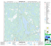 Northwest Territories Topographic Map