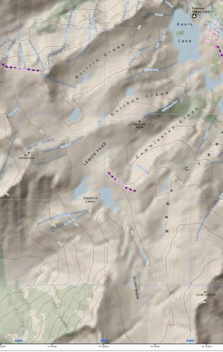 kookanoosa ski routes bc govt