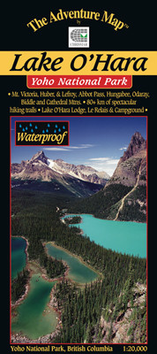 lake o hara map
