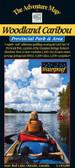 woodland cariboo provincial park map