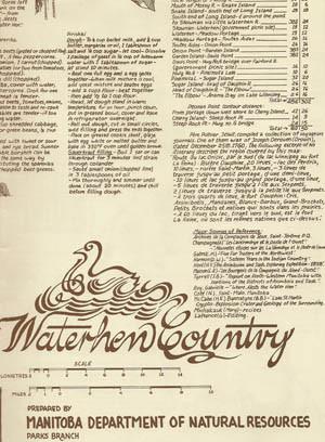 Waterhen Country Historical Canoe Map