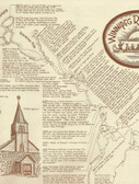 Winnipeg River Routes Historical Canoe Map