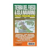 Tierra Del Fuego & Isla Navarino Trekking Map