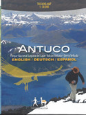 Antuco Chile Trekking Map