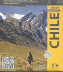 Adventure Map Central Chile Argentina Trekking Map