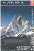 Khumbu Himal Trekking Map nelles