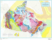 Geological GSC Canada Map