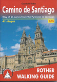 Camino de Santiago Hiking book