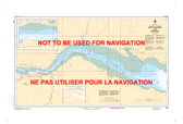 Saint-Fulgence à/to Saguenay Canadian Hydrographic Nautical Charts Marine Charts (CHS) Maps 1201