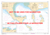 Baie des Sept-Îles Canadian Hydrographic Nautical Charts Marine Charts (CHS) Maps 1220