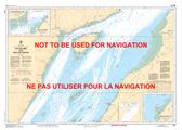 Cap aux Oies à/to Sault-au-Cochon Canadian Hydrographic Nautical Charts Marine Charts (CHS) Maps 1233