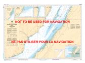 Cap de la Tête au Chien au/to Cap aux Oies Canadian Hydrographic Nautical Charts Marine Charts (CHS) Maps 1234