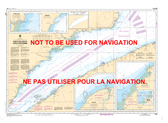 Pointe des Monts aux/to Escoumins Canadian Hydrographic Nautical Charts Marine Charts (CHS) Maps 1236