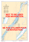 Sorel-Tracy à/to Varennes Canadian Hydrographic Nautical Charts Marine Charts (CHS) Maps 1311