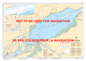 Lac Saint-Pierre Canadian Hydrographic Nautical Charts Marine Charts (CHS) Maps 1312
