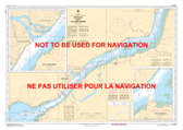 Batiscan au/to Lac Saint-Pierre Canadian Hydrographic Nautical Charts Marine Charts (CHS) Maps 1313