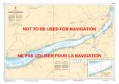 Québec à/to Donnacona Canadian Hydrographic Nautical Charts Marine Charts (CHS) Maps 1315