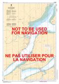 Port de Québec Canadian Hydrographic Nautical Charts Marine Charts (CHS) Maps 1316